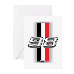 cars 1998 Greeting Cards (Pk of 10)