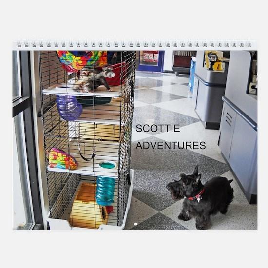Scottie Dog Wall Calendar