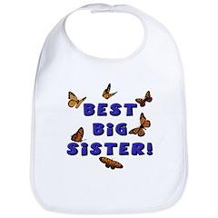Best Big Sister! Bib