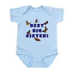 Best Big Sister! Infant Bodysuit