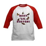 Best 'Lil Sister! (2-Sided) Kids Baseball Jersey