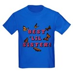 Best 'Lil Sister! Kids Dark T-Shirt