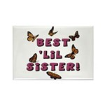 Best 'Lil Sister! Rectangle Magnet