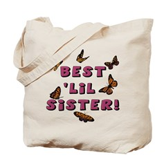 Best 'Lil Sister! (2-Sided) Tote Bag