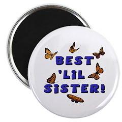 Best 'Lil Sister! Magnet