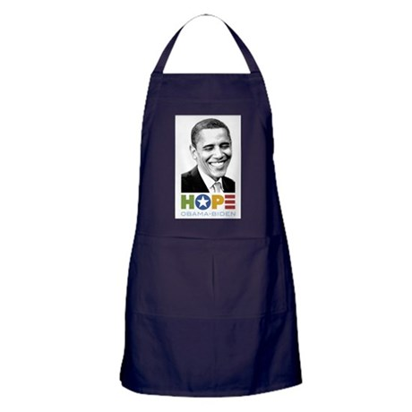 Hopeful Smile Apron (dark)