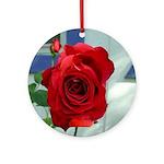 Flower #18, Ornament (Round)