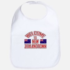Welcome to New Zealand Town Bib