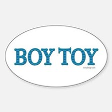 Boy Toy Oval Decal