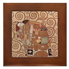 Gustav Klimt Art Framed Tile Fulfillment 1