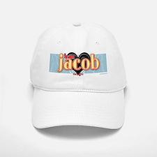 Team Jacob Black Heart Baseball Baseball Cap
