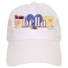 Team Bella Blue Heart Baseball Cap