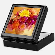 Flower Gifts Keepsake Box