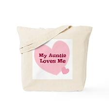 My Auntie Loves Me Tote Bag