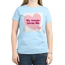 My Auntie Loves Me Women's Pink T-Shirt