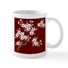 Japanese textile Cherry tree Mug