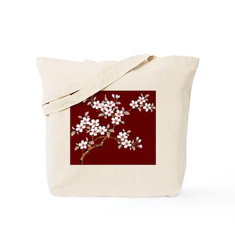 Japanese textile Cherry tree Tote Bag
