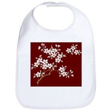 Japanese textile Cherry tree Bib