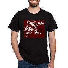 Japanese textile Cherry tree T-Shirt
