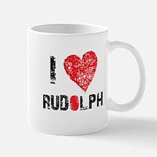 i love rudolph Mug