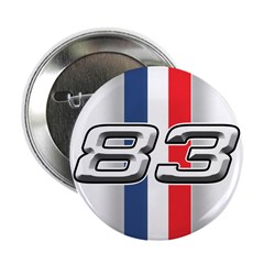 """Cars 1983 2.25"""" Button (10 pack)"""