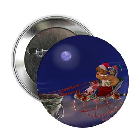 "Sleigh Ride 2.25"" Button (10 pack)"