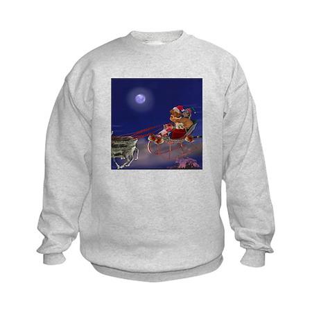Sleigh Ride Kids Sweatshirt