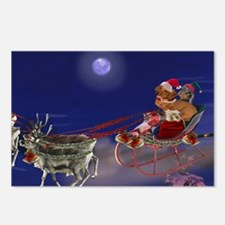 Sleigh Ride Postcards (Package of 8)