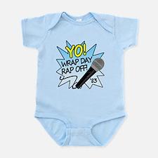 Yo! Wrap day rap off! Infant Bodysuit