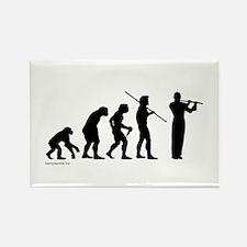 Flute Evolution Rectangle Magnet (10 pack)