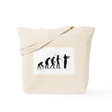 Flute Evolution Tote Bag