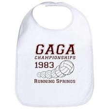 Gaga Championships 1983 Bib