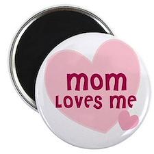 Mom Loves Me Magnet