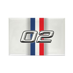 Cars 2002 Rectangle Magnet (100 pack)