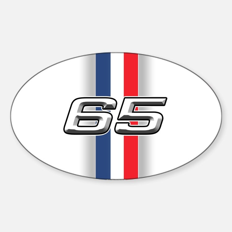Cars 1965 Oval Decal