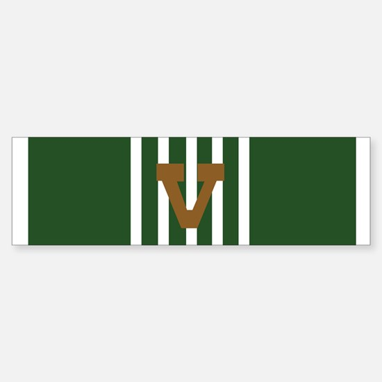 Army Commendation Combat V (Bumper)