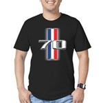 Cars 1970 Men's Fitted T-Shirt (dark)