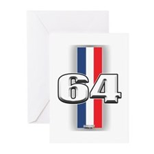 Cars 1964 Greeting Cards (Pk of 10)