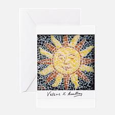 Unique Sunburst Greeting Card