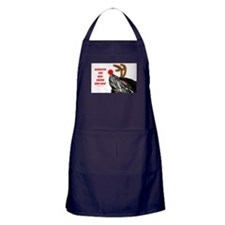Rudolph the Red Nosed Red Ear Apron (dark)