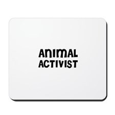 ANIMAL ACTIVIST Mousepad