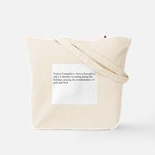 Festive-Compulsive Tote Bag