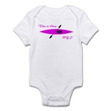 This is How I Roll (Pink) Infant Bodysuit