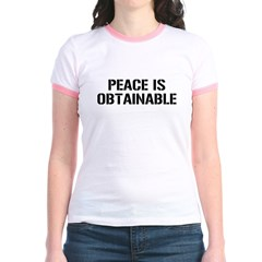 Peace is obtainable T