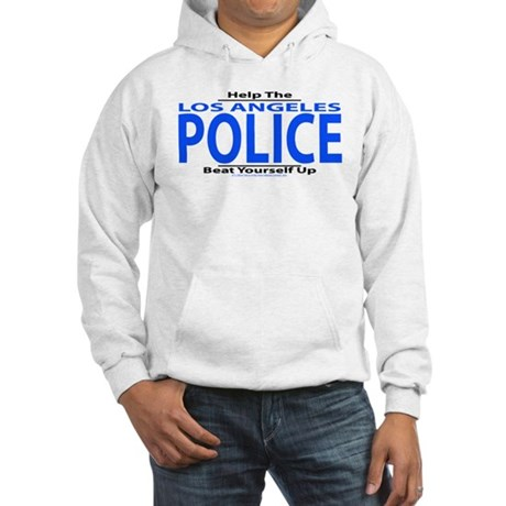 Help Los Angeles Police Hooded Sweatshirt