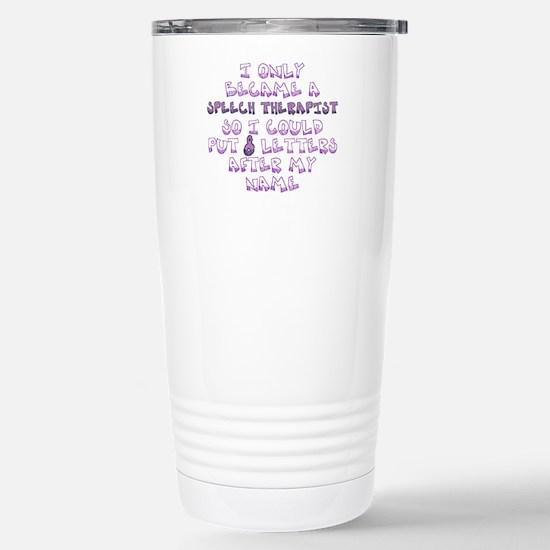 Cute Spiffy speech Travel Mug