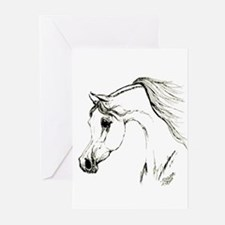 Funny Mare Greeting Cards (Pk of 20)