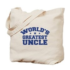 World's Greatest Uncle Tote Bag