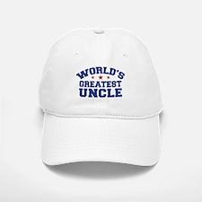 World's Greatest Uncle Baseball Baseball Cap