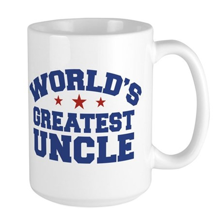 World's Greatest Uncle Large Mug